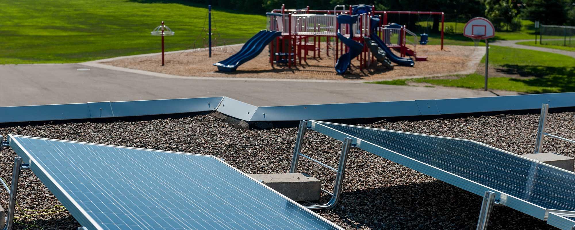 Snail Lake Kindergarden School Solar Array