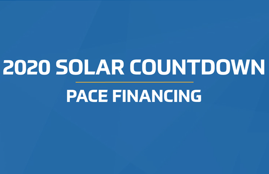 2020 Solar Countdown - Pace Financing