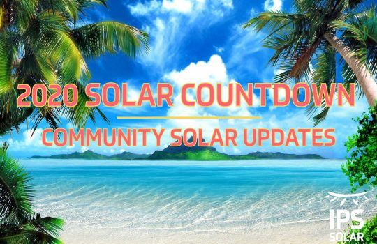 2020 Solar Countdown - Community Solar Rates