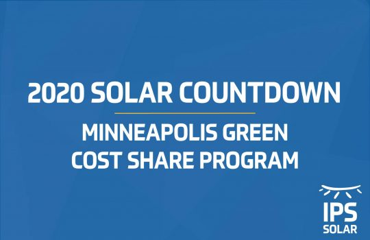 2020 Solar Countdown Minneapolis Green Cost Share Program