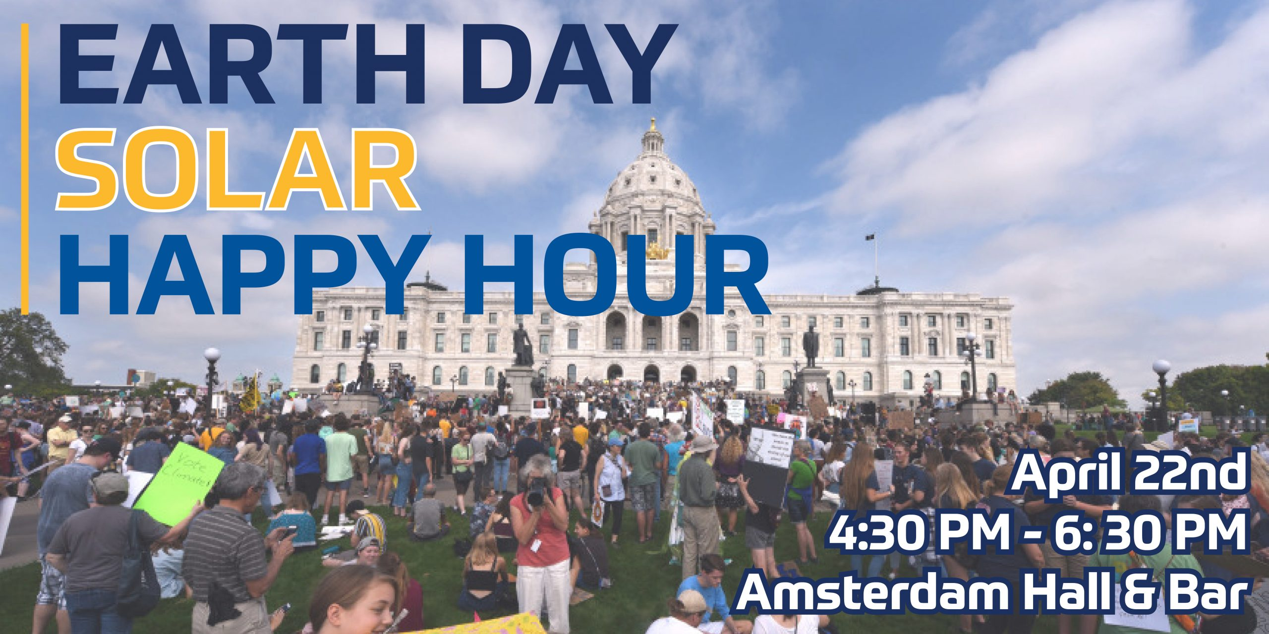 Earth Day Solar Happy Hour