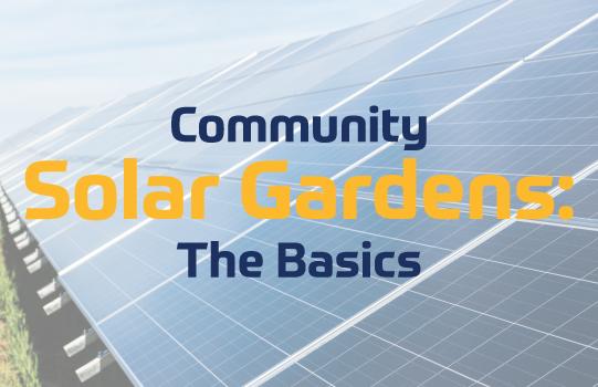 Community Solar Garden Blog Photo