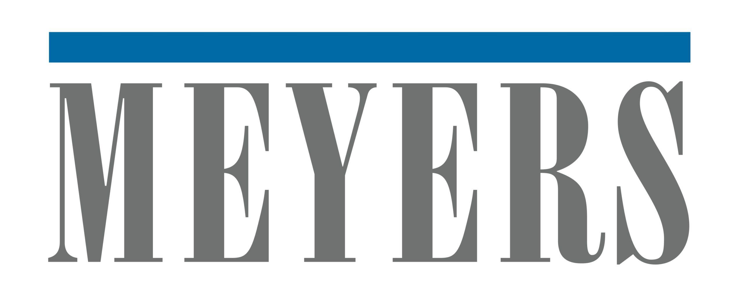 meyers printing solar logo