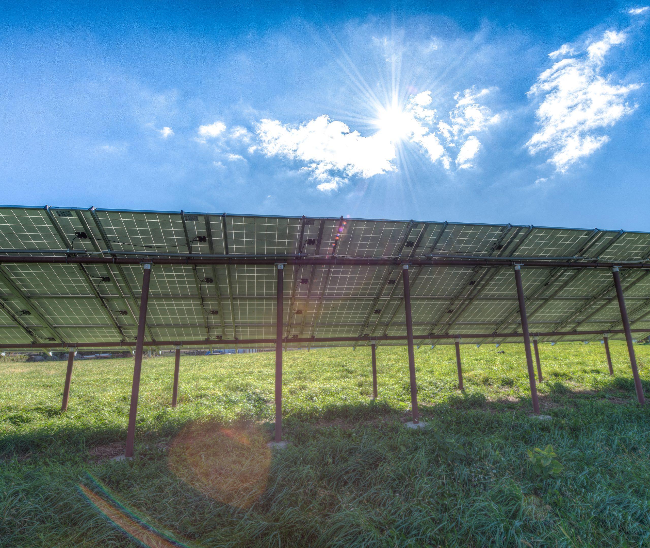 Eichten;s Hidden Acres Gound Mount Solar Array