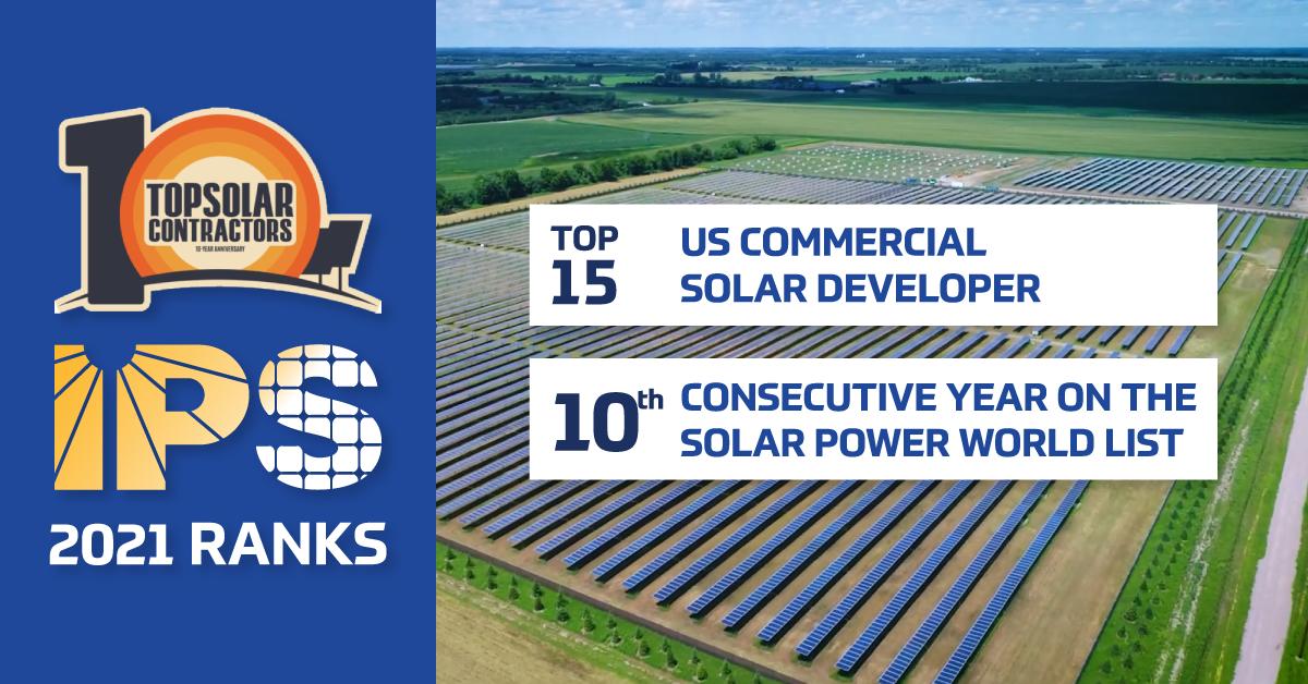 2021 Top Solar Contractors IPS Ranking