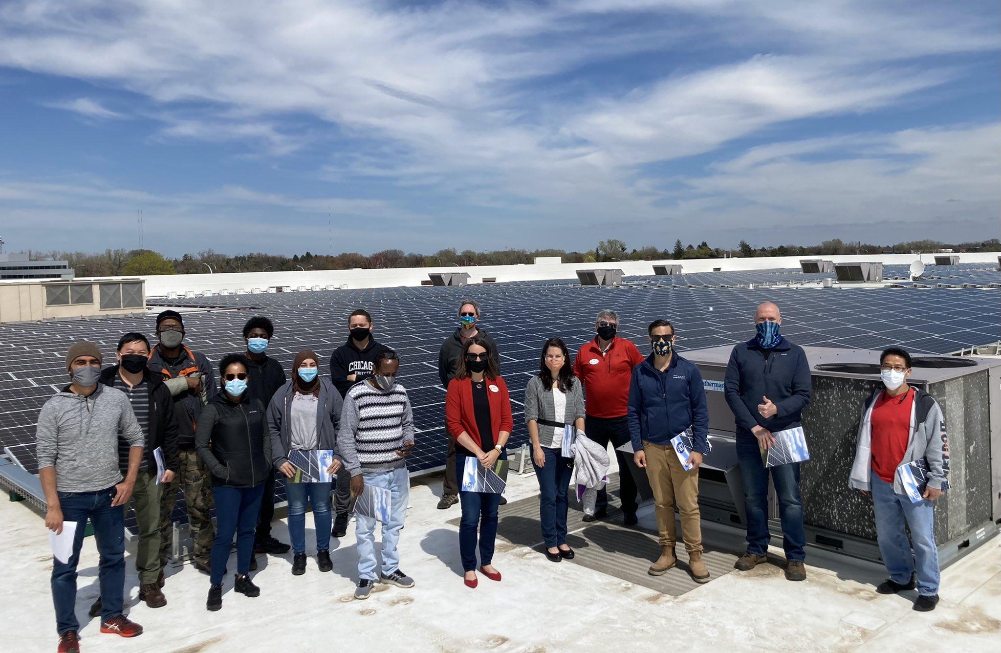 Recent Summit Academy Grads, IPS team members, and Target representatives
